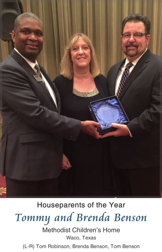 2017 CORE Houseparents of the Year - Tommy and Brenda Benson