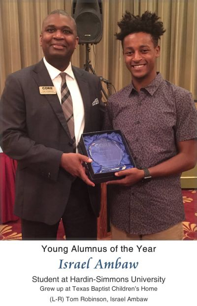 2017 CORE Young Alumnus of the Year - Israel Ambaw