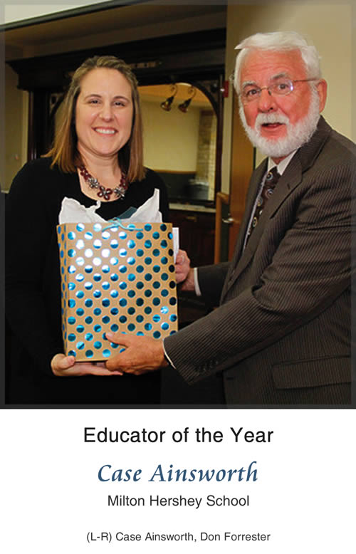 Educator of the Year - Case Ainsworth, Milton Hershey School