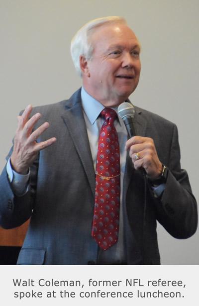 Walt Coleman - Former NFL Referee - Luncheon Speaker